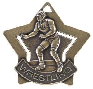 wrestling medal