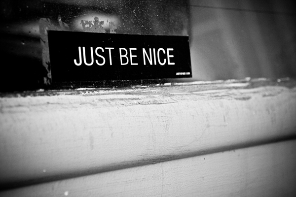 just-be-nice