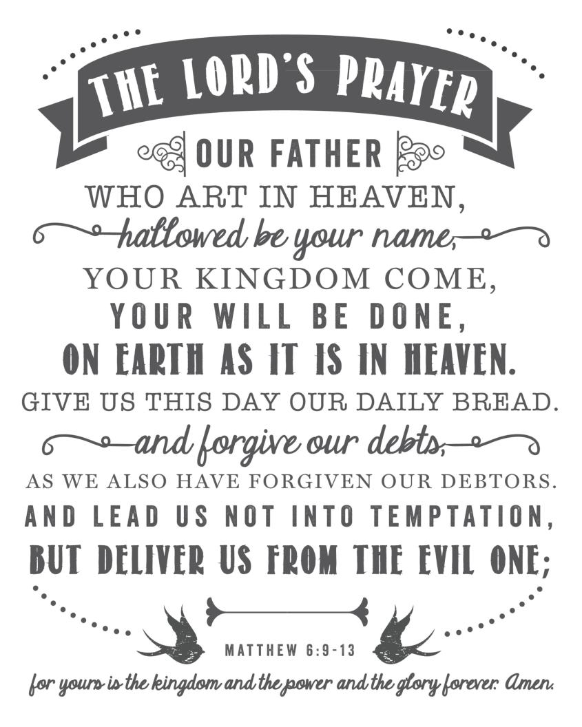 The-Lords-Prayer-Free-Printable-8x10