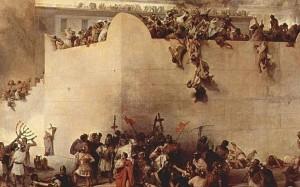 History-of-Tisha-BAv-_Historic Tisha B'Av painting depicting the Destruction of the Temple of Jerusalem (By Francesco Hayez)
