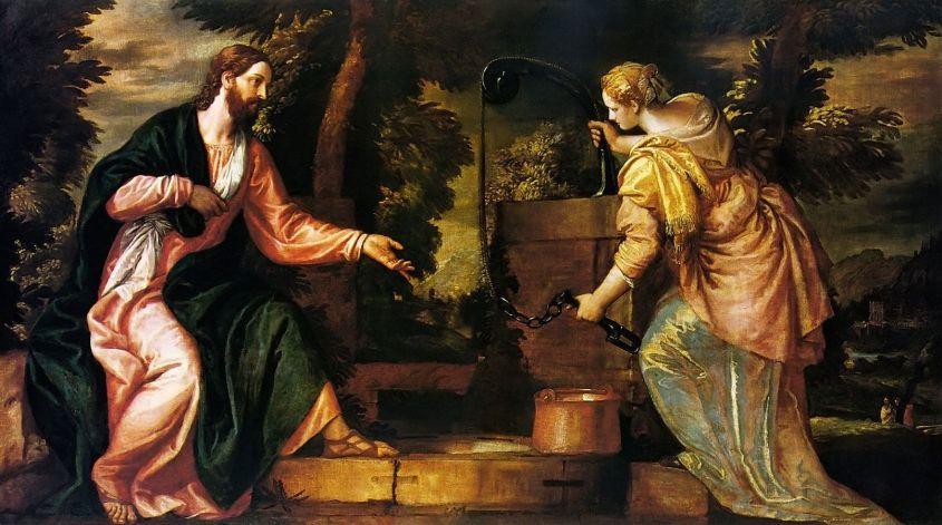 Jesus_and_the_Samaritan_Woman by Paolo Cagliari